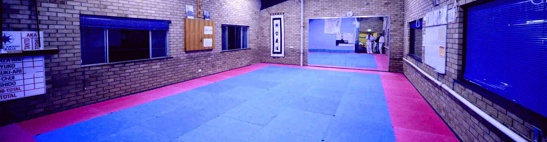 OUR DOJO AT NORTH RYDE RSL YOUTH CLUB